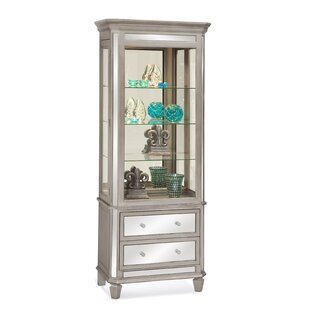 Philip Reinisch Co. Presidio Lighted China Cabinet