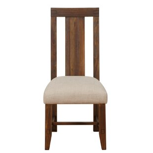 Heritage Solid Wood Dining Chair Millwood Pines