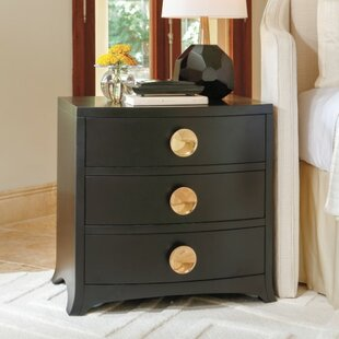 Bow Front 3 Drawer Chest by Global Views 2019 Sale