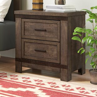 Sallie 2 Drawer Nightstand