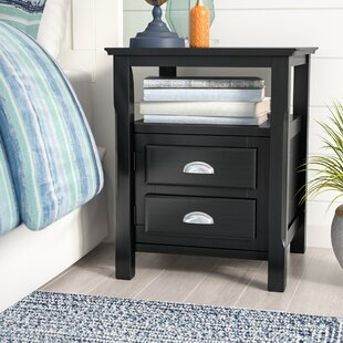 Beachcrest Home Mcgovern Traditional Wood Nightstand