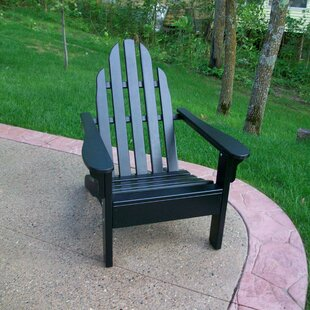Prairie Leisure Design Wood Adirondack Chair