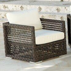 Marianna Lounge Patio Chair with Cushions
