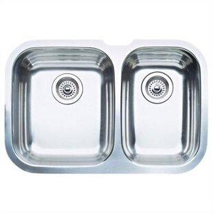 niagara 27 5   x 18 13   bowl undermount kitchen sink 27 inch kitchen sink   wayfair  rh   wayfair com