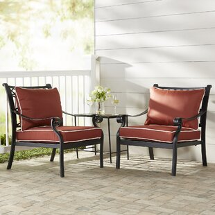 Nadine Arm Chair with Cushion (Set of 2)