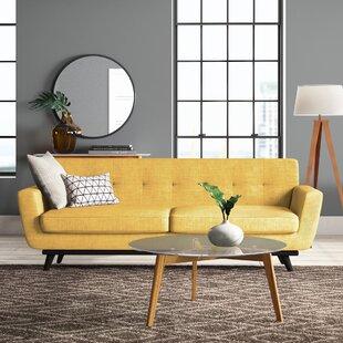 Modern & Contemporary Mustard Yellow Sofas | AllModern