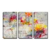 Day in the Sun by Norman Wyatt Jr. - Print on Canvas (Set of 3)
