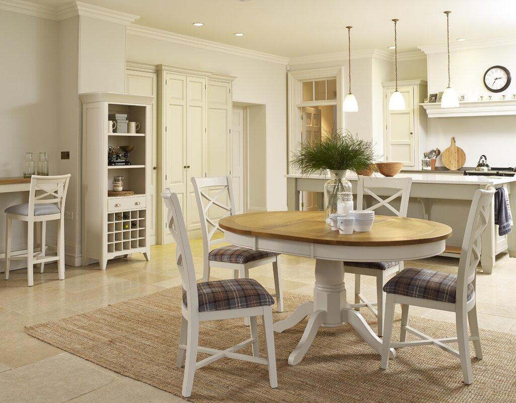 hazelwood home ausziehbarer esstisch padstow pedestal bewertungen. Black Bedroom Furniture Sets. Home Design Ideas