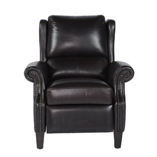 Mobley Bustle Back Leather Manual Recliner