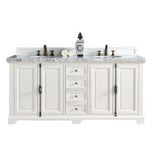 Kaycee 72 Double Bathroom Vanity Base Only By Greyleigh