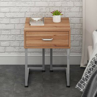 GroveHill 1 Drawer Bedside Table By 17 Stories
