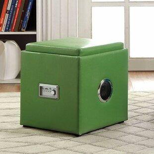 Gagner Cube Ottoman by Ebern Designs