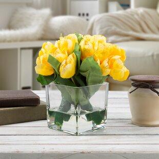 Yellow faux flowers joss main yellow faux flowers mightylinksfo