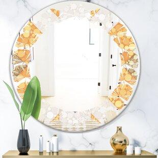 Wave Leopard Fur Safari VII Cottage Americana Wall Mirror by East Urban Home