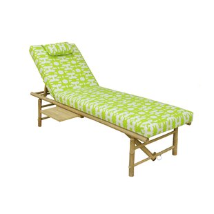 Double Chaise Lounge Patio Relax Chair
