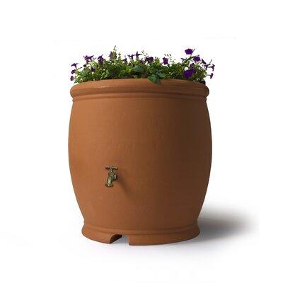 100 Gallon Rain Barrel Algreen Color Terra Cotta
