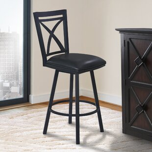 Bonnett 30 Swivel Bar Stool Orren Ellis