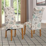 Alixzandria Linen Upholstered Side Chair (Set of 2) by Red Barrel Studio®
