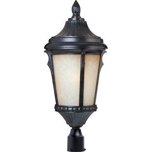 Find the perfect Rabana Outdoor Post Lantern By Beachcrest Home