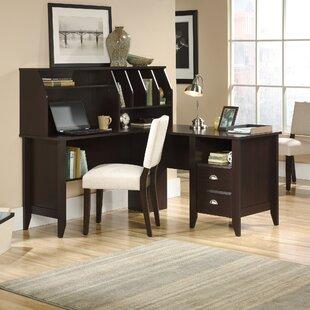 Find Drayton L-Shape Writing Desk with Hutch ByRed Barrel Studio