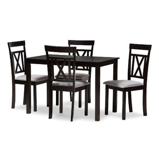 Attleboro 5 Piece Dining Set