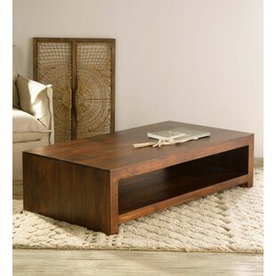 Brentford Sheesham Wood Coffee Table by Foundry Select
