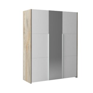 Review Hailey 3 Door Sliding Wardrobe