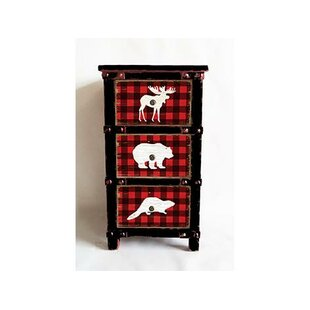 Quill Animal Buffalo Plaid 3 Drawer Accent Chest by Millwood Pines