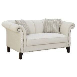 Rocha Chesterfield Loveseat by Alcott Hill #1