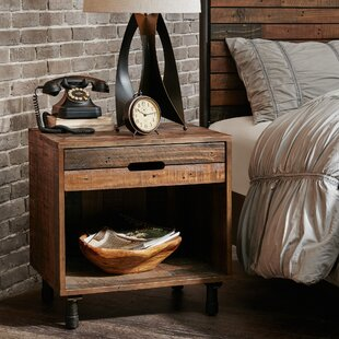 Judsonia 1 Drawer Nightstand