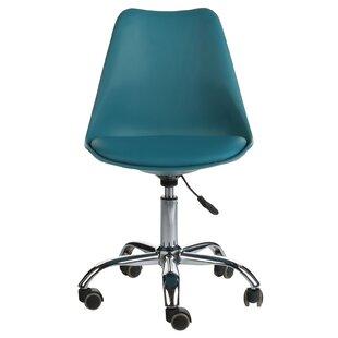 Ebern Designs Burel Mid-Century Modern Office Chair