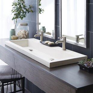 Concrete Trough Sink | Wayfair