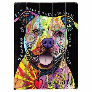 Pitbull Wall Art | Wayfair