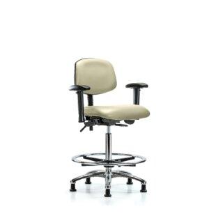 Symple Stuff Anna High Bench Ergonomic Office Chair