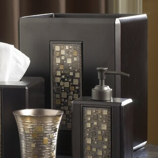 Read Reviews Mosaic Waste Basket ByCroscill Home Fashions