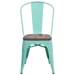 Kidder Stackable Dining Chair by Breakwater Bay Great Reviews