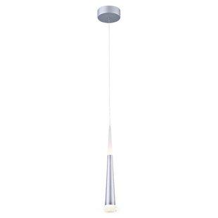Orren Ellis Crean 1-Light LED Cone Pendant