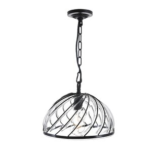 CWI Lighting 1-Light Dome Pendant