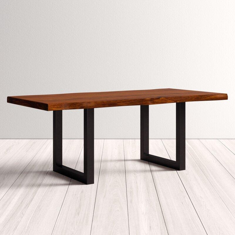 Sandra Modern Acacia Wood Bar Table