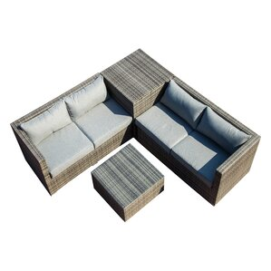 Vankirk 4 Piece Seating Group with Cushion