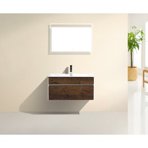 Brockman 32″ Single Modern Bathroom Vanity Set