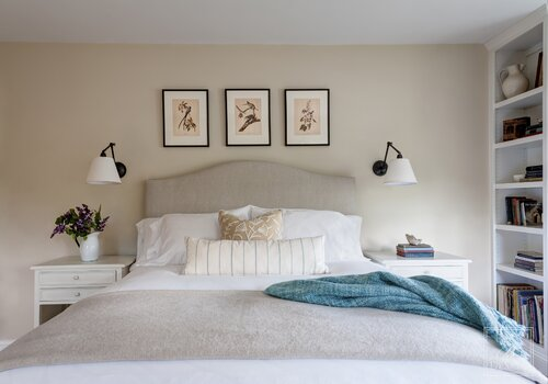 Bedford Modern Country Master Bedroom Design Ideas By Elza B Design Inc Joss Main