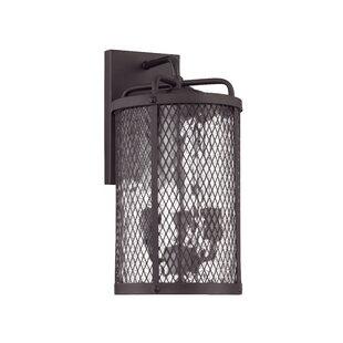 17 Stories Gibrilla 3-Light Outdoor Wall Lantern