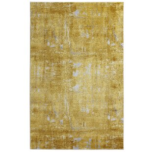 Golden Gate Yellow Rug by Mint Rugs