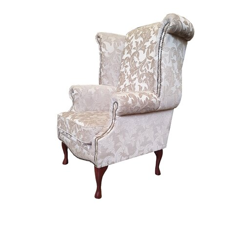 Clardy Wingback Chair Astoria Grand Upholstery: Fortuna