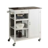 Auden Kitchen Cart with Faux Marble Top by Red Barrel Studio®