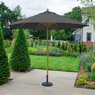 Brussels 3m Traditional Parasol By Freeport Park