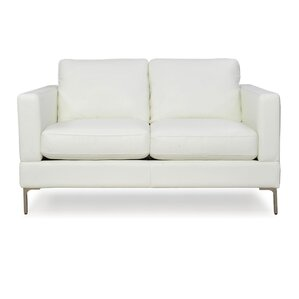 Kathrin Contemporary Loveseat by Everly Quinn
