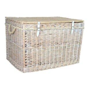 Large Storage Wicker Basket  sc 1 st  Wayfair & Large Storage Wicker Basket   Wayfair.co.uk