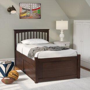 Order Arkwright Nollet Platform Bed with Storage Drawers ByAndover Mills